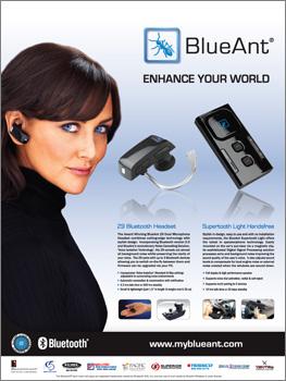 Post image for BlueAnt magazine advert (US)