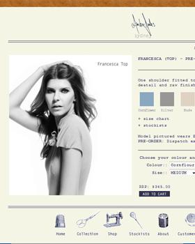 AmberJules.com - online store catalogue.