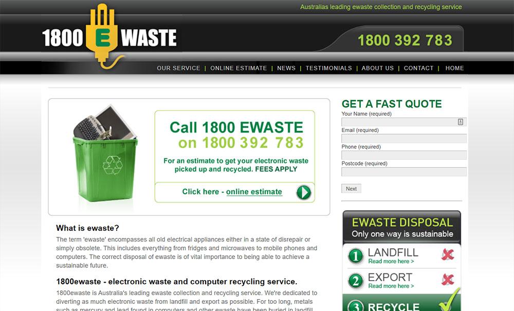 Ewaste Website