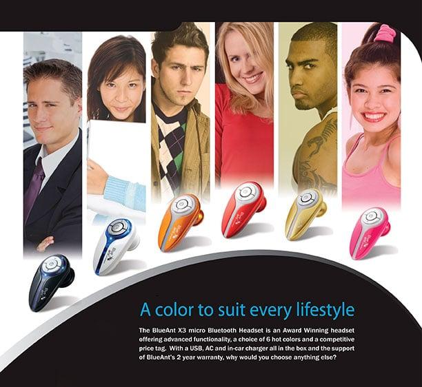 Graphic Design - X3 lifesyle advert