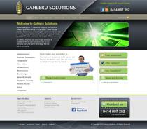 Gahleru Solutions IT support services Sydney new website