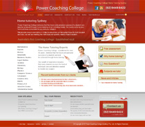 Power Coaching College website